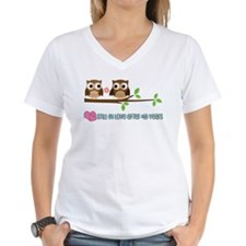 Owl 48th Anniversary Shirt