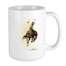 Rodeo Rider Bucking Bronco Mug