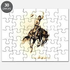 Rodeo Rider Bucking Bronco Puzzle