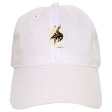 Rodeo Rider Bucking Bronco Baseball Baseball Cap