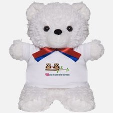 Owl 55th Anniversary Teddy Bear