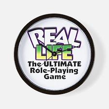 Real Life RPG Wall Clock