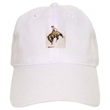 Bucking Bronco Baseball Baseball Cap