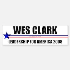 """Wes Clark 2008"" Bumper Bumper Bumper Sticker"