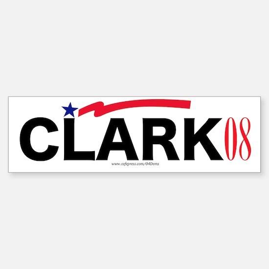 """""""Gen. Clark"""" Bumper Car Car Sticker"""