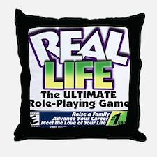 Real Life RPG Throw Pillow