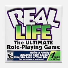 Real Life RPG Tile Coaster