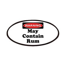 Warning May Contain Rum Patches