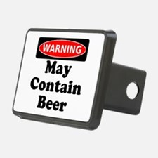 Warning May Contain Beer Hitch Cover