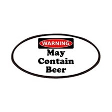 Warning May Contain Beer Patches