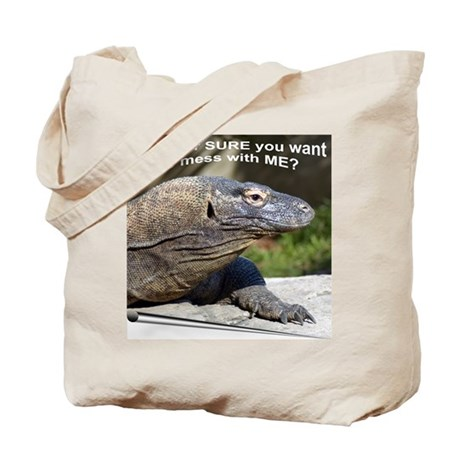 Komodo Dragon Tote Bag