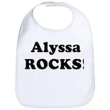 Alyssa Rocks! Bib