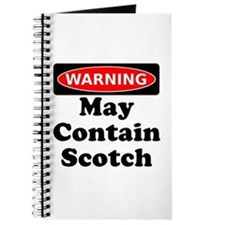 Warning May Contain Scotch Journal