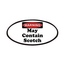 Warning May Contain Scotch Patches