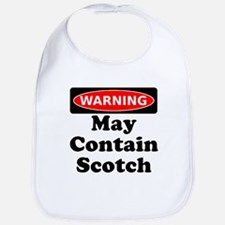 Warning May Contain Scotch Bib
