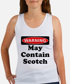 Warning May Contain Scotch Tank Top