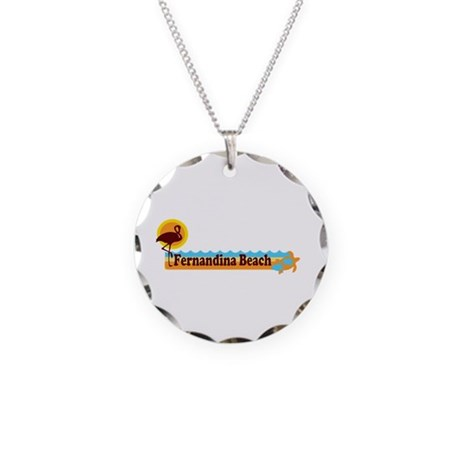 Fernandina Beach - Beach Design. Necklace Circle C