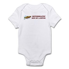 Motorboatin SOB Design 2 Infant Bodysuit