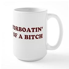 Motorboatin SOB Design 2 Mug