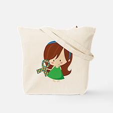 Autism Awareness Girl Tote Bag