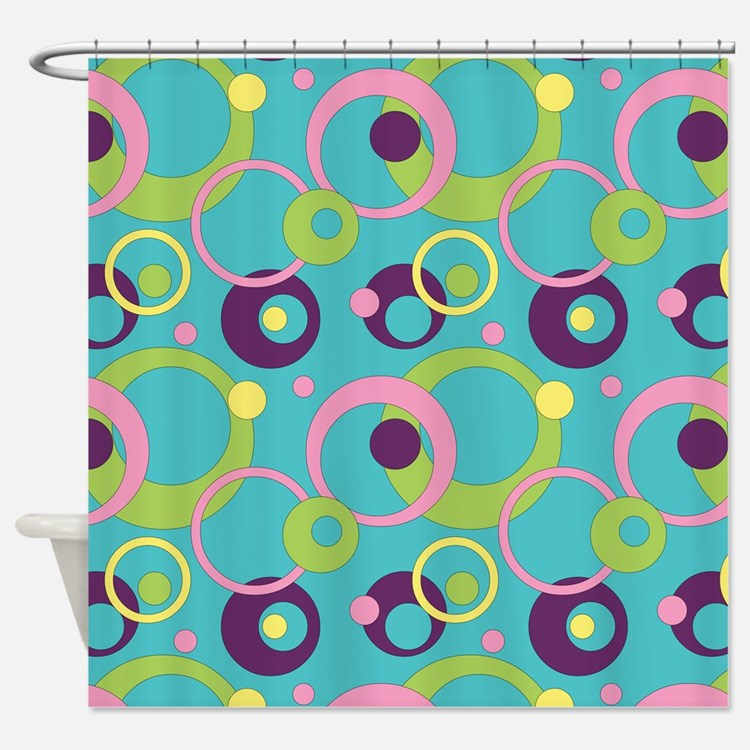 Funky Shower Curtains Funky Fabric Shower Curtain Liner