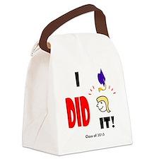 Unique 2013 graduation Canvas Lunch Bag