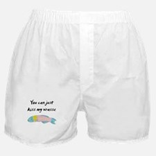 kiss my wrasse Boxer Shorts