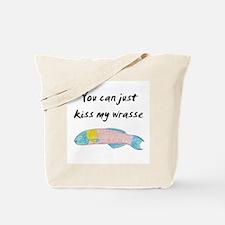 kiss my wrasse Tote Bag