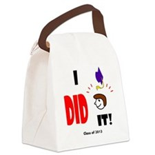Cute Graduation class of 2013 Canvas Lunch Bag