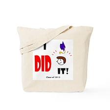 Cute Graduation 2013 Tote Bag