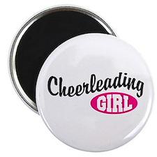 Cheerleading Girl Magnet