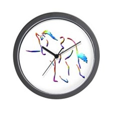Lungeing Exercises Wall Clock