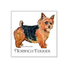 Norwich Terrier Sticker