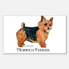 Norwich Terrier Decal