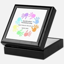 World Autism Day 2013 Keepsake Box