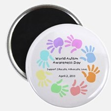 """World Autism Day 2013 2.25"""" Magnet (10 pack)"""