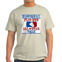 National Team, Flip cup all s Ash Grey T-Shirt