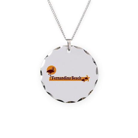 Fernandina Beach - Beach Design. Necklace Circle C