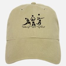 Bump Set Spike! Baseball Baseball Cap