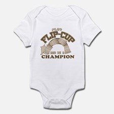 Play Flip-cup and be a champi Infant Bodysuit