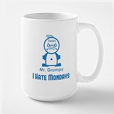MR GRUMPY I hate Mondays moody angry face funny Mu