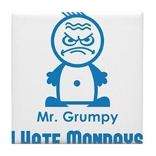 MR GRUMPY I hate Mondays moody angry face funny Ti