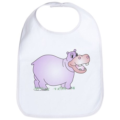 Danielle the Hippo Bib