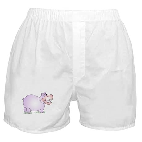 Danielle the Hippo Boxer Shorts