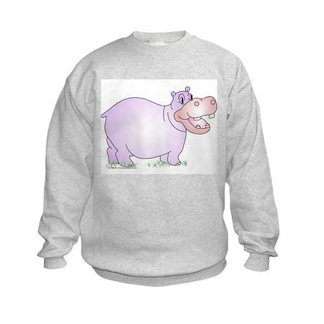Danielle the Hippo Kids Sweatshirt