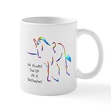Lungeing Excersises Mug