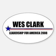 """General Leadership"" Oval Decal"