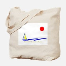 Oceanside City Tote Bag