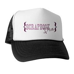 Scrapbook Dive Trucker Hat