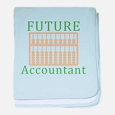 Future Accountant baby blanket